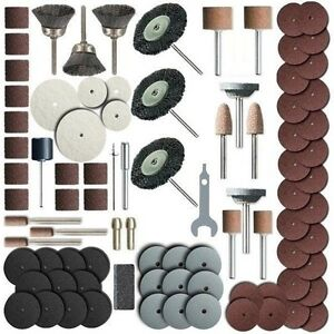 216 Piece Rotary Tool Accessory Set - Fits Dremel - Grinding, Sanding, Polishing