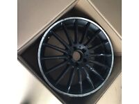 MINT CONDITION GENUINE MERCEDES C63 ALLOY WHEEL