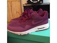 Nike AirMax 1 ultra Moire in purple UK4.5