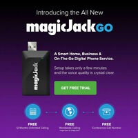 magicJack GO Unlimited Free Home Calling + Android & iPhone App