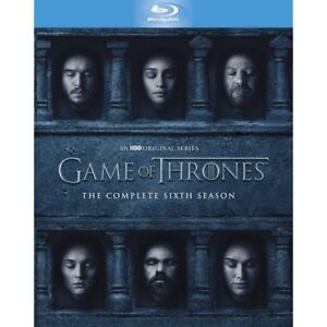 Game of Thrones Season 6 Blu-ray (Brand New) (Sealed)