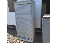 Metal roller shutter cabinet
