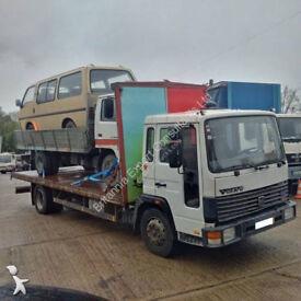 Left hand drive Volvo FL611 Turbo 11 ton truck. On springs suspension.