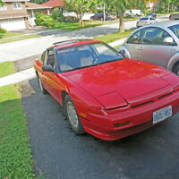 1989 Nissan 240SX Coupe (2 door) Engine is immaculate