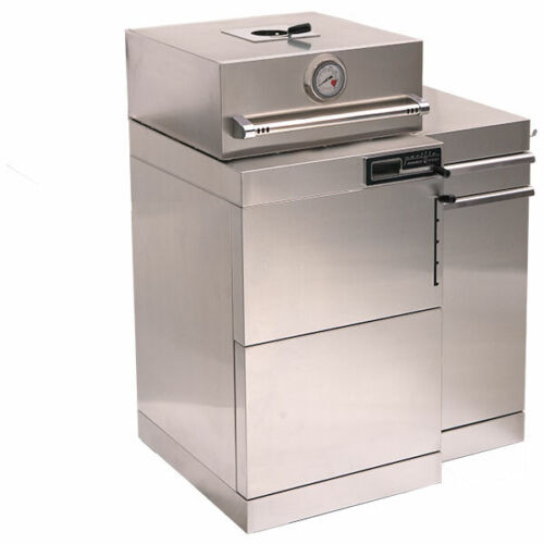 Kamado Grill Stainless Steel with Cabinet