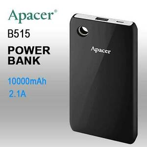 APACER DELUXE PORTABLE POWERBANK 10000MAH BLACK COLOR ( B515 BL Sydney City Inner Sydney Preview