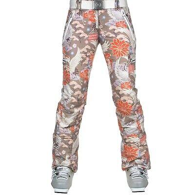 c56e029f45b3 Bogner Terri Women's Insulated Print Ski Pants Size 80 US L10 (32