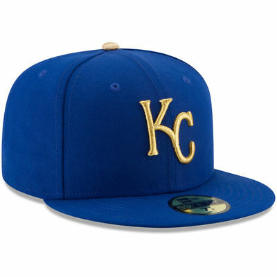 Kansas City Royals New Era Alternate Game Fitted Cap Hat Authentic New