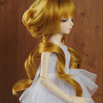 DM 1//4 BJD MSD Wig 18-20 cm 7-8 inch Ann Hair Style Wig Brown