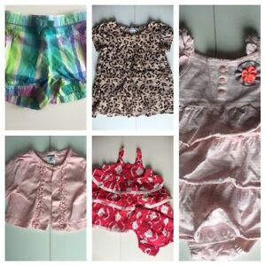 Girls Summer Clothing Lot size 6 months
