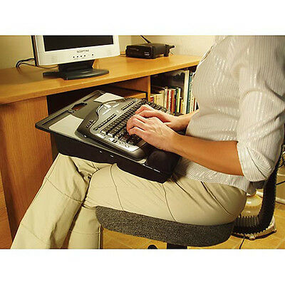Computer Lap Desk - Lapdesk Ergonomic Sturdy Easy To Carry Nonskid