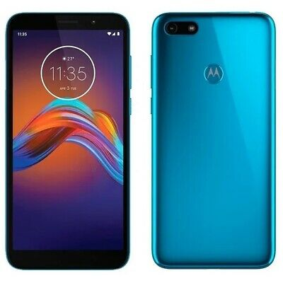 Motorola Moto E6 Play 4G Smartphone 32GB Sim-Free Unlocked - (Ocean Blue)  B+