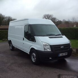 Ford transit 2012 (62) 100 6speed t350 lwb semi hi top rwd