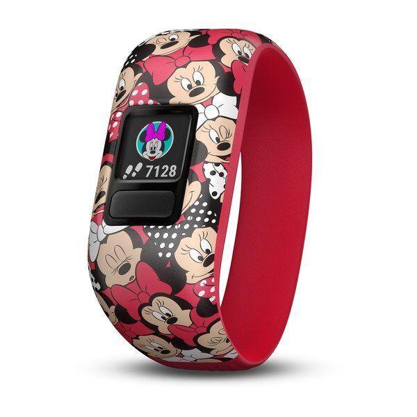 Купить Garmin Garmin Vivofit 2 - Garmin vivofit jr 2 Kid Activity Tracker Stretchy Minnie Mouse Band 010-01909-20