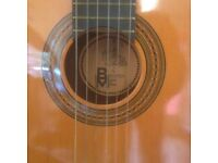 bm classical Spanish guitar full size.