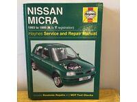 Book - Nissan Micra 1993 - 1999