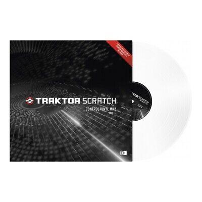 Native Instruments Traktor Scratch Timecode Vinyl MK2 white gebraucht kaufen  Dresden