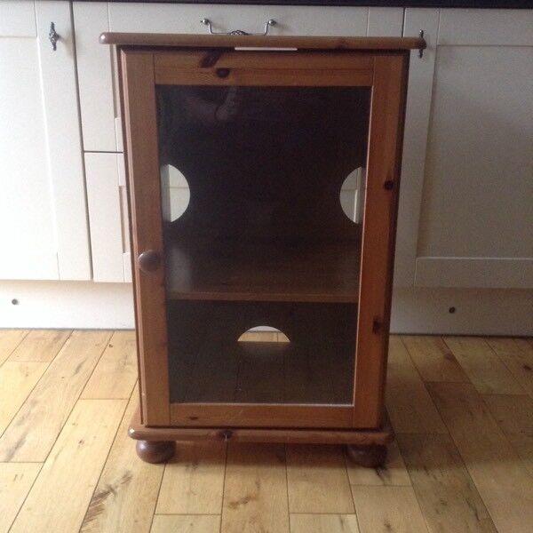 Oak Hifi Cabinet