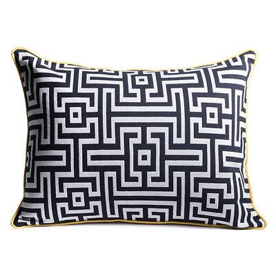 Modern Contemporary Decorative Throw Pillow Cover