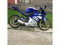 Yamaha yzf 125cc 10 reg, may deliver, READ DESCRIPTION
