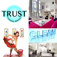 TRUST CLEANING SERVICES - Residential and Commercial Cleaning