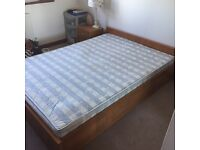 Bed frame + mattress + nightstand all for £60