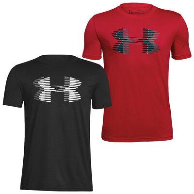 Solid Tech T-shirt (Under Armour Tech Big Logo Solid Boys T-Shirt Kinder Short Sleeve Shirt 1306073)