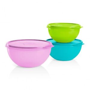 Ensemble de 3 bols étonnants Tupperware