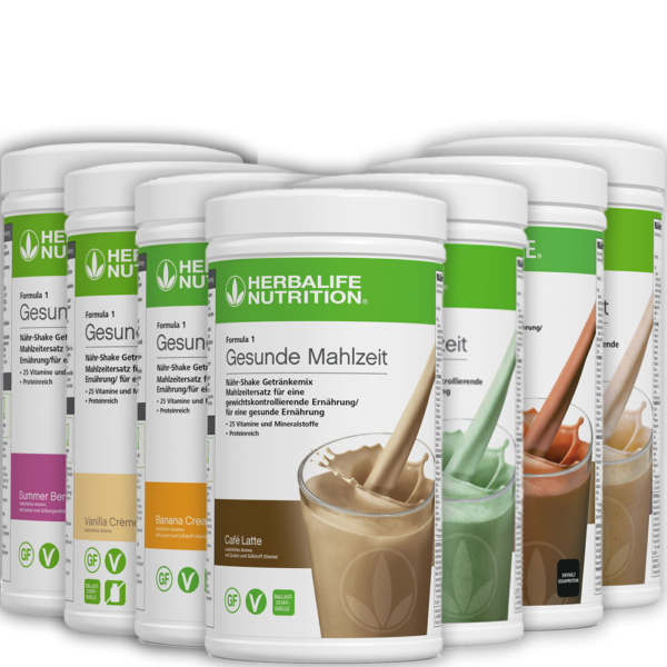 Herbalife Nutrition Formula 1 Healthy Meal Replacement Shake Mix All flavors