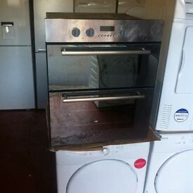 Double Oven Electric SALE ON £110 with a store warranty EXCELLENT CONDITION