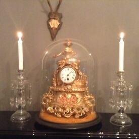 Antique working clock lovely