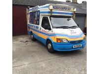 Ice Cream Van For Sale
