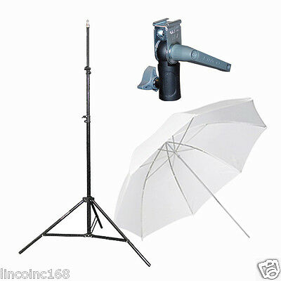 Light Stand & Flash Bracket Mount & Umbrella / Speedlite Flash Accessories Kit - Lighting Accessories Umbrellas