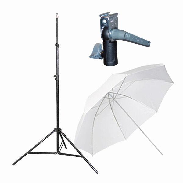 Light Stand & Flash Bracket Mount & Umbrella / Speedlite Flash Accessories Kit B