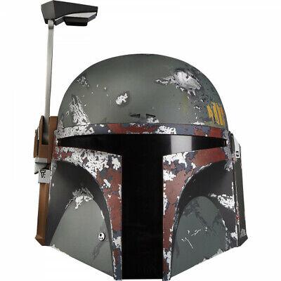 Casco Electrónico Boba Fett 1:1 De Star Wars, The Black Series, Hasbro
