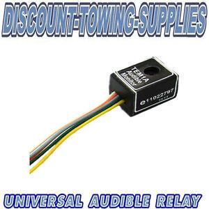 Universal-Towbar-Towing-Electric-Audible-Buzzer-Warning-Relay-For-Indicators