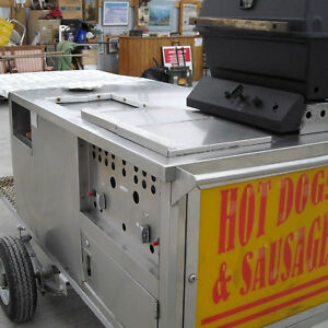ONE OF A KIND HOT DOG CART!!!