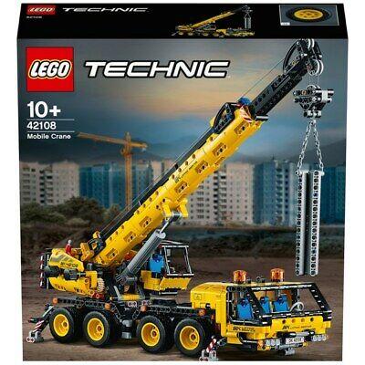 LEGOTechnic42108 MobileCraneConstructionVehicles Set *NEW* *FREE POSTAGE*