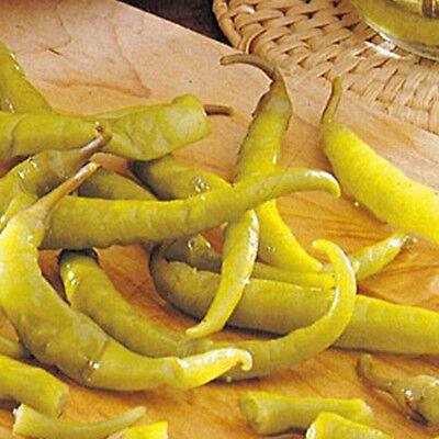 PIMIENTO GUINDILLA BLANCA para vinagre pepper 200 Semillas - seeds huerto jardin