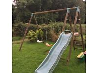 Swing + slide set