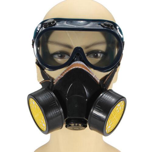 Anti-polvere Spray Gas delle vie respiratorie Vernice Filtro Goggles Maschera HK