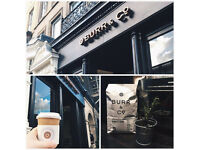 Full & Part time Baristas required - Burr & Co