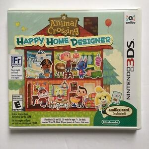 NEW Nintendo 3DS Animal Crossing Happy Home Designer Game