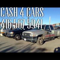 SCRAP CARS REMOVAL TORONTO (416-567-5941)