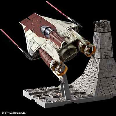 Bandai 206320 – Star Wars A-Wing Starfighter – 1:72 scale