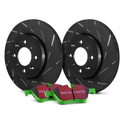 For Chevy Camaro 1998-2002 EBC S2KR1342 Stage 2 Sport Slotted Rear Brake Kit