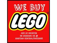 We buy LEGO!