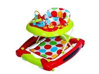 Red Kite go round twist baby walker/rocker