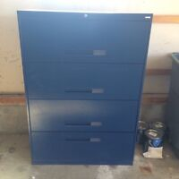 4 drawer lateral filing cabinet for sale
