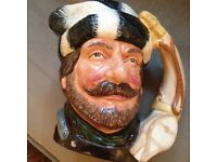 Royal doulton the trapper large jug